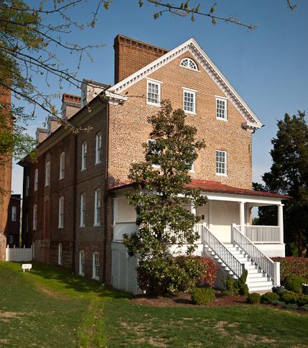 High Quality Charles Carroll House Entrance