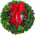 Festive Design Wreath