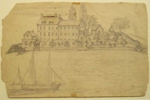 Historic House sketch